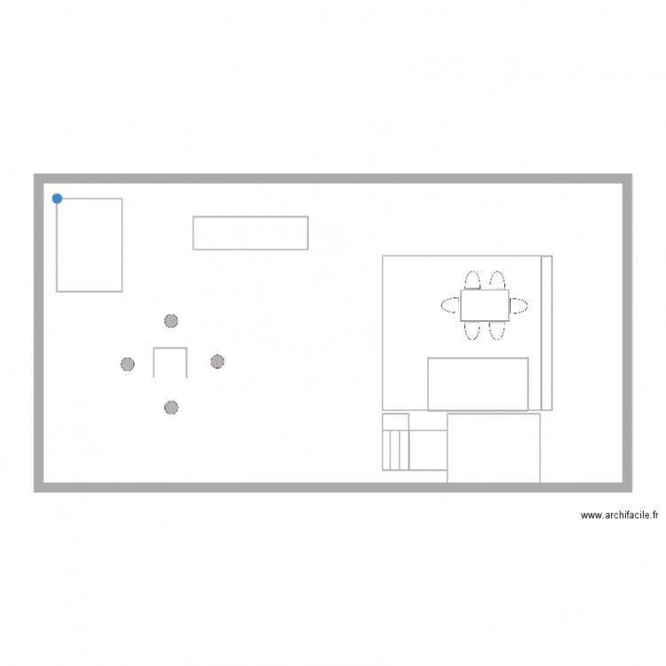 Cour vierge plan 10 pi ces 140 m2 dessin par jospoi - Consommation electrique moyenne maison 140 m2 ...