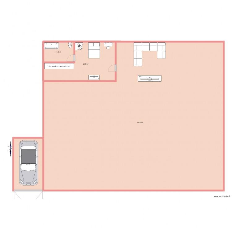 Ma maison de mes r ve plan 4 pi ces 399 m2 dessin par for Mes plans de maison