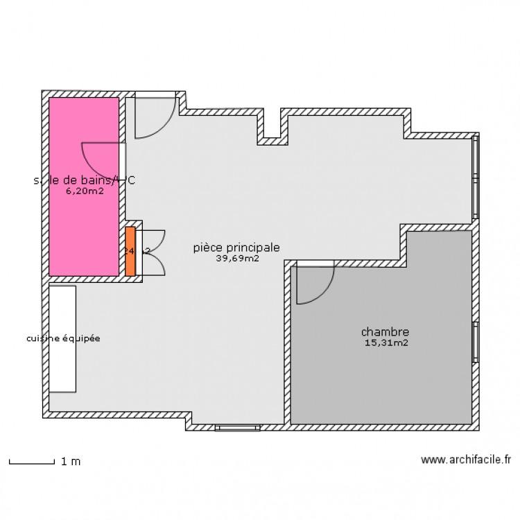 plan 4 appartement par palier