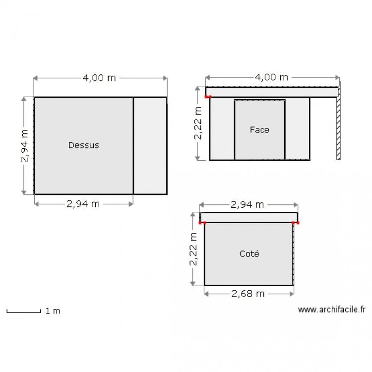 Plan de masse dp2 abris jardin plan 7 pi ces 23 m2 dessin par flomagnum - Plan de masse cote dans les 3 dimensions ...