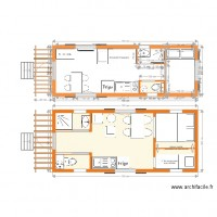 plan roulotte 7 m standard 2