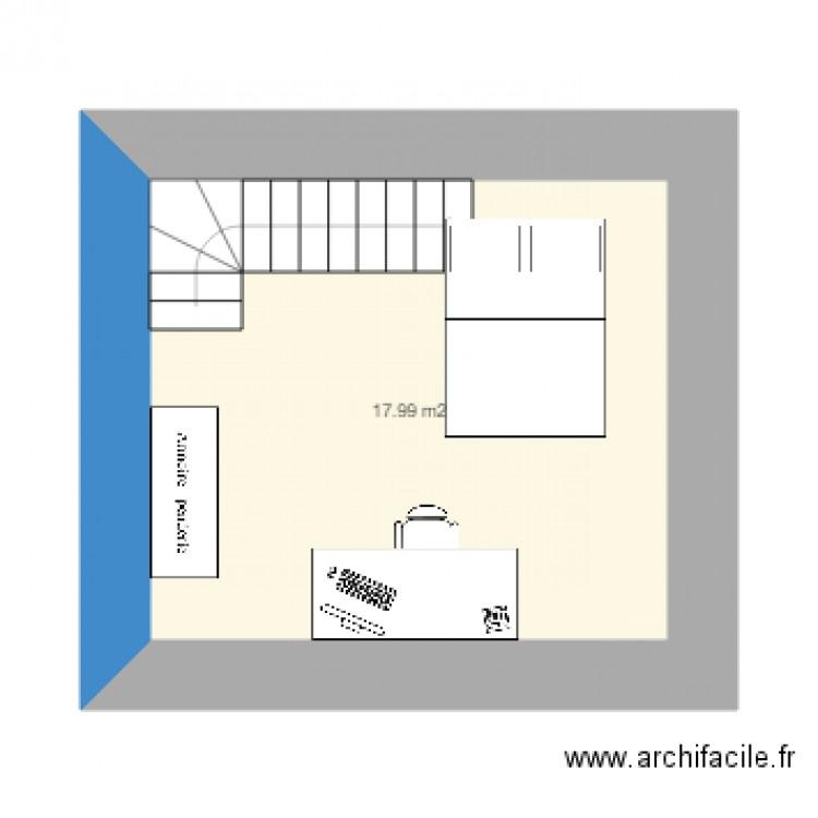 Meublé lambé 1 chambre  Plan 7 pièces 61 m2 dessiné par Lesub