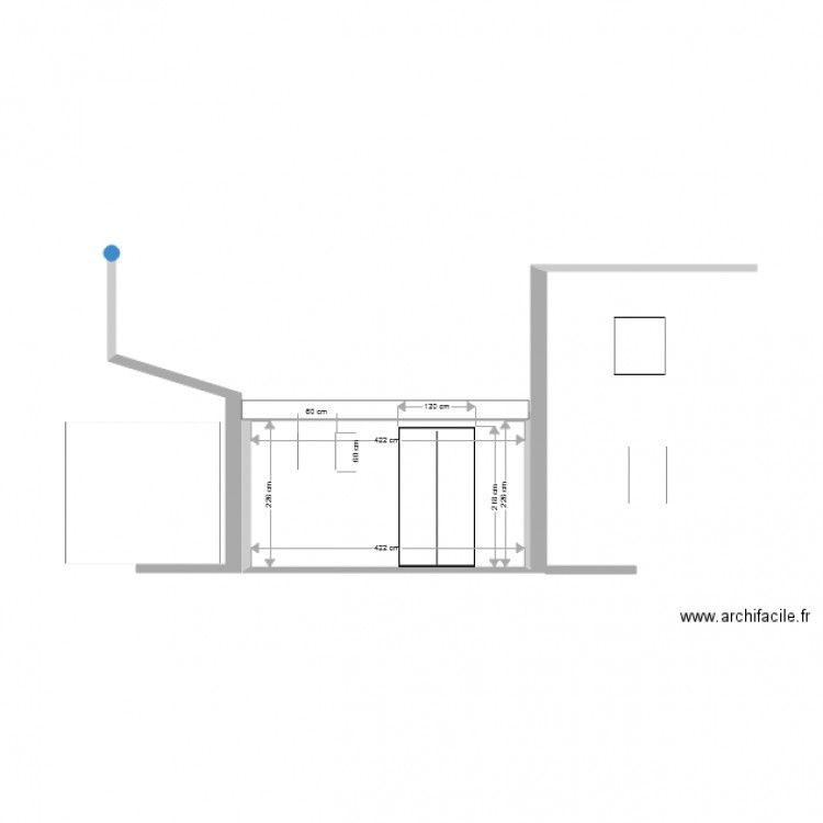 abri de jardin plan 1 pi ce 10 m2 dessin par do. Black Bedroom Furniture Sets. Home Design Ideas