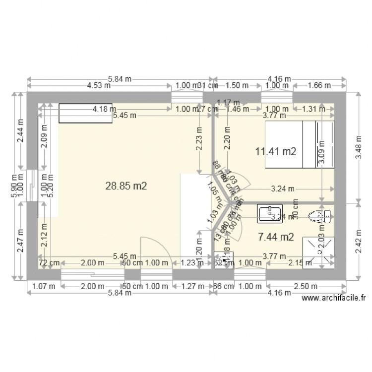 Best Plan Maison Avec Cotes Plan De Pices Et M With Plan Maison Avec Tour  Carre