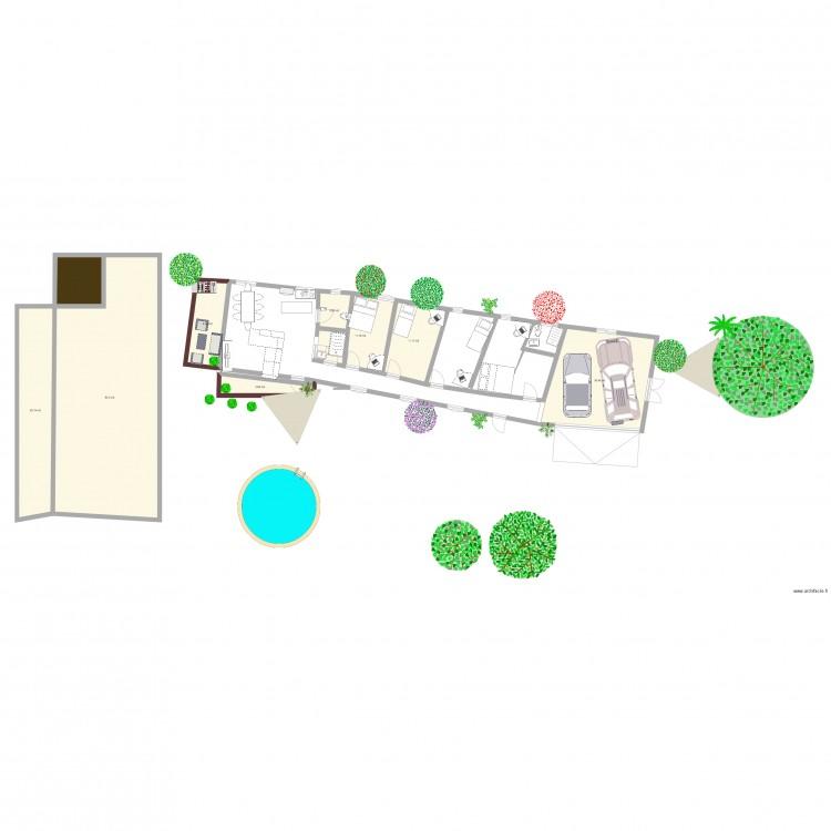 La maison de mes r ves plan 9 pi ces 182 m2 dessin par for Dessine mes plans de maison