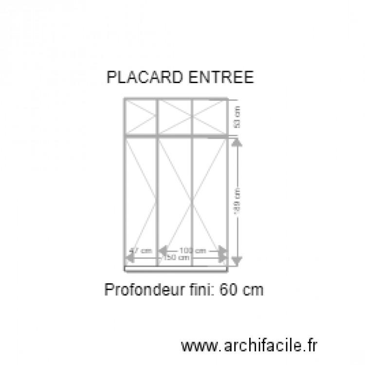 placard entr e broncard ext rieur v2 plan 5 pi ces 3 m2. Black Bedroom Furniture Sets. Home Design Ideas