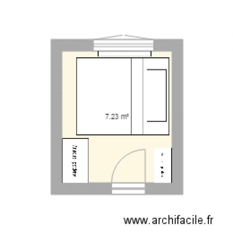 Chambrecha2 Plan 1 Pi Ce 7 M2 Dessin Par Depluv