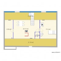 Plan de comble logiciel archifacile for Plan amenagement comble