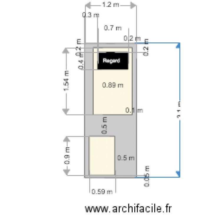 Local technique plan dessin par laurent1326 for Plan local technique