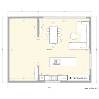 plan appartement 80m2 2 chambres