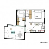 Plan projet final appartement Sonia PINCIER