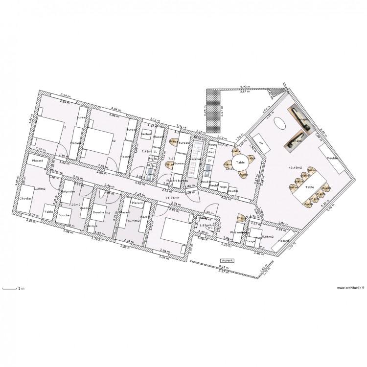 plain pied sur s s 3 ch sdj bureau sud buanderie. Black Bedroom Furniture Sets. Home Design Ideas