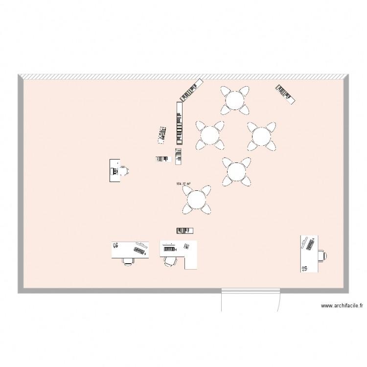 Cdi albert camus outreau plan 1 pi ce 154 m2 dessin par for Piscine outreau