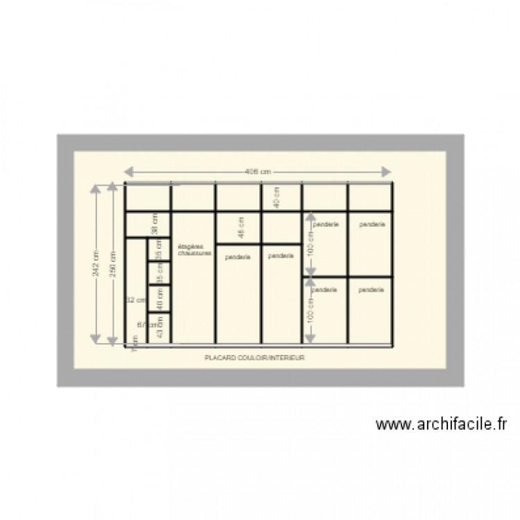 Placard Selle Couloir Int Rieur V2 Plan 15 Pi Ces 27 M2