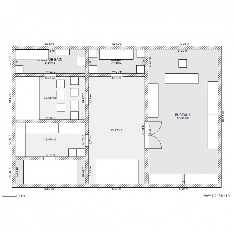 plan de maison new yorkaise