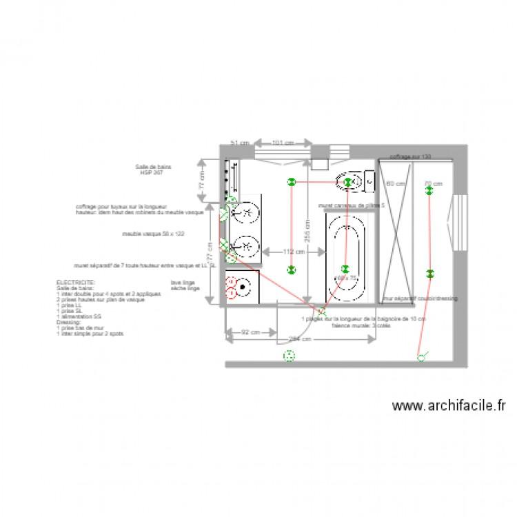 plan lectrique salle de bains asni res 7 juin 2017 plan