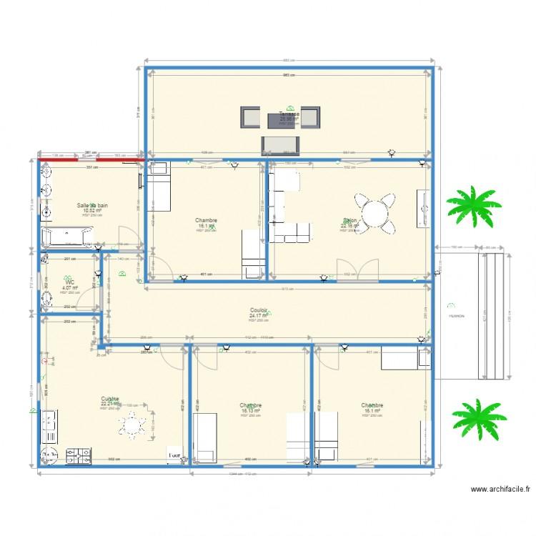 Terrasse Moderne Tage Cr Terrasse En Bois Avec Piscine: Plan Maison 160 M2 Etage. Perfect Plan Er Tage Maison Elk