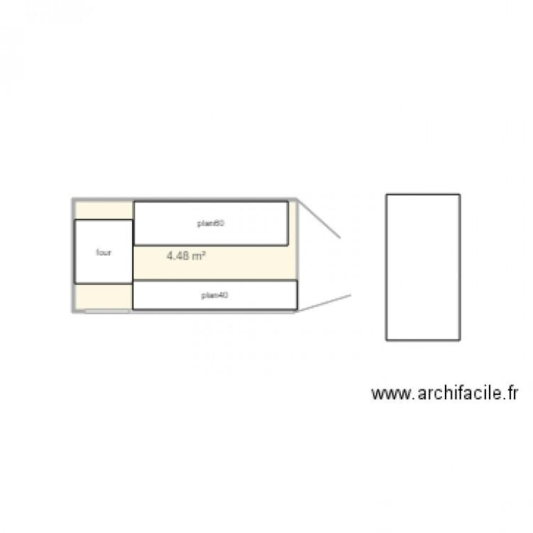 Remorque pizza plan 1 pi ce 4 m2 dessin par lutin57 for Le garage a pizza