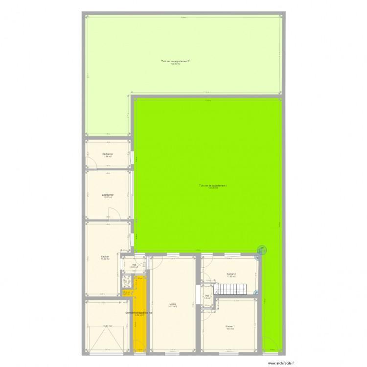 Beersel Exterieur Plan 40 Pi Ces 817 M2 Dessin Par
