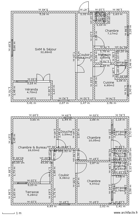 maison duplex romi