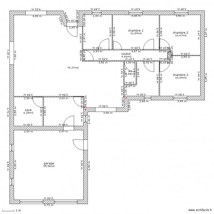 Nouveau Plan Maison Neuve Plan 8 Pieces 162 M2 Dessine Par Magraw