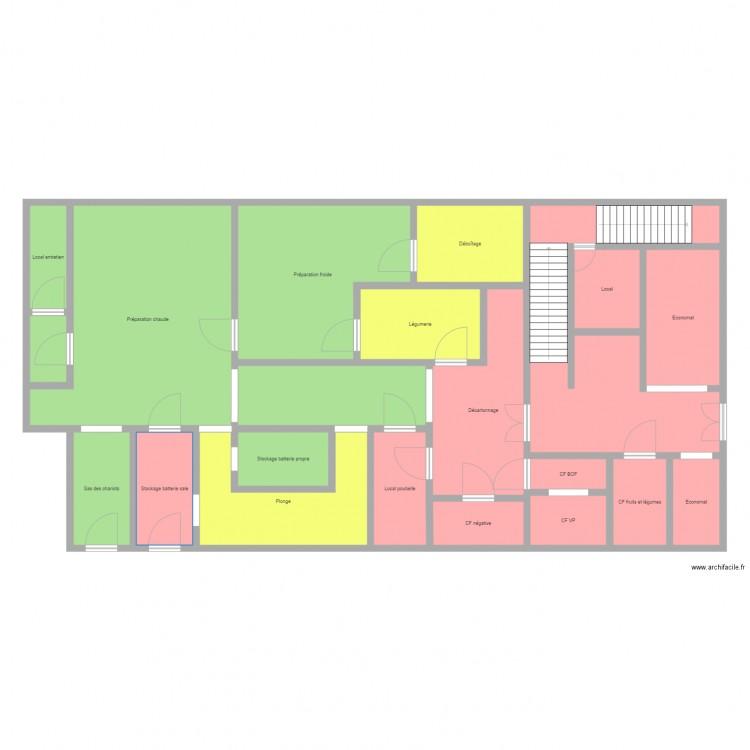 Plan de cuisine restauration collective plan 21 pi ces for Concevez et construisez votre propre maison en ligne