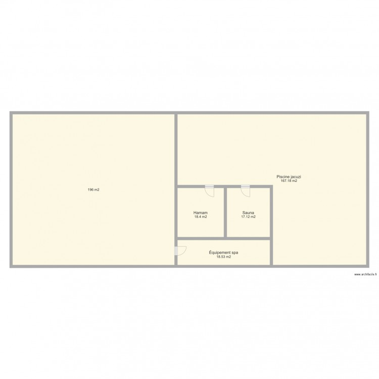 Plan maison 300m2 fabulous maison m ravisu with plan for Plan maison 300m2