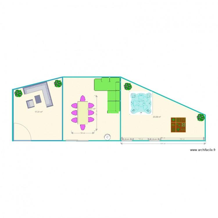 Terrasse Bois 63: Plan 3 Pièces 63 M2 Dessiné Par Ricou1