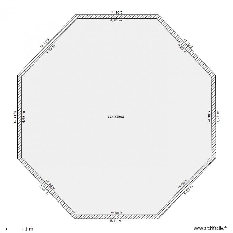 zome rdc plan 1 pi ce 115 m2 dessin par 100bougies. Black Bedroom Furniture Sets. Home Design Ideas