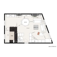 Plan appartement Julien GALLES implantation meubles option 3