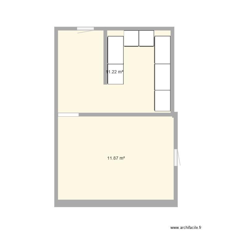 Agrandissement chambre parentale plan 2 pi ces 23 m2 for Agrandissement chambre
