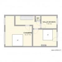plan maison 62m2