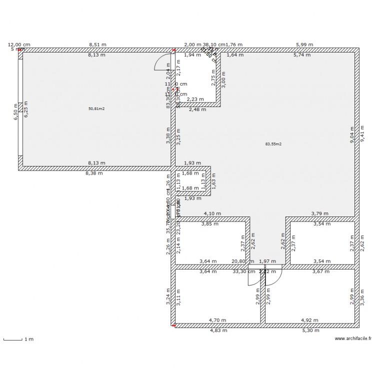 Ma maison plan 2 pi ces 134 m2 dessin par paulrobi for Dessine ma maison gratuitement