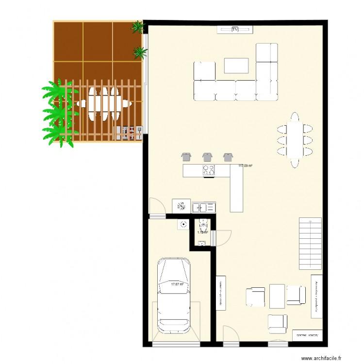 Loft allee du redon anglet renov plan 3 pi ces 136 m2 for Garage du redon