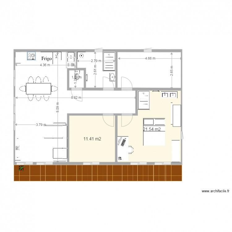 Plan Maison 90M2. Maison 90M2 Top Maison. Plan Maison Plein Pied