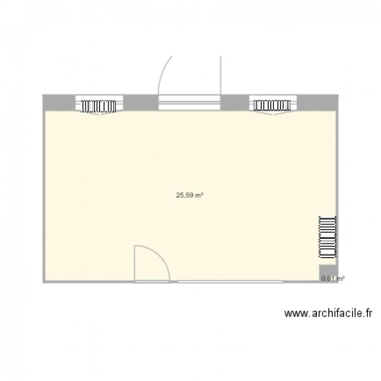 Foyer Et Plan Focal : Foyer plan pièces m dessiné par archiolix