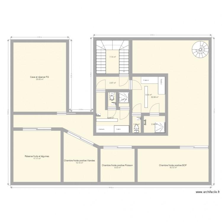 3 me plan 14 pi ces 162 m2 dessin par laurie1710 for 162 plan