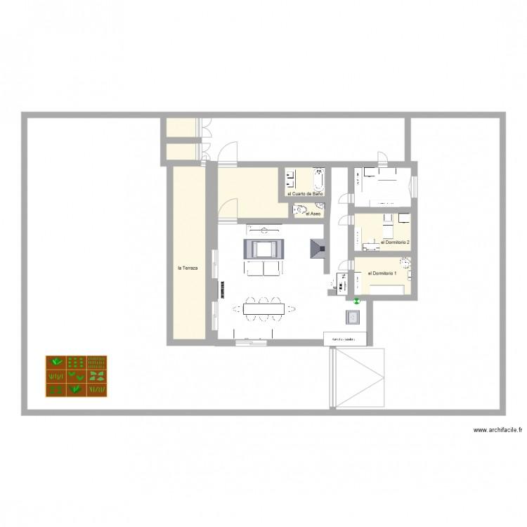 plan de maison en espagnol