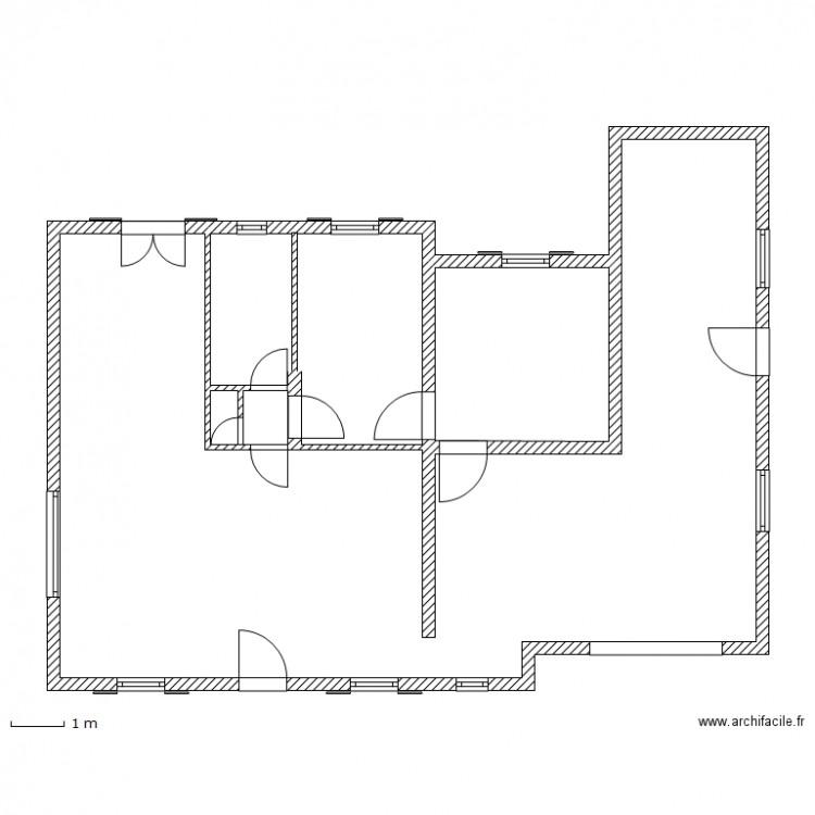 Plan apr s ouverture fenetre 2013 plan 4 pi ces 102 m2 for Fenetre plan
