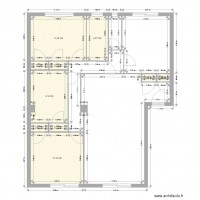 plan d 39 appartement en ligne dessinez votre plan avec archifacile. Black Bedroom Furniture Sets. Home Design Ideas