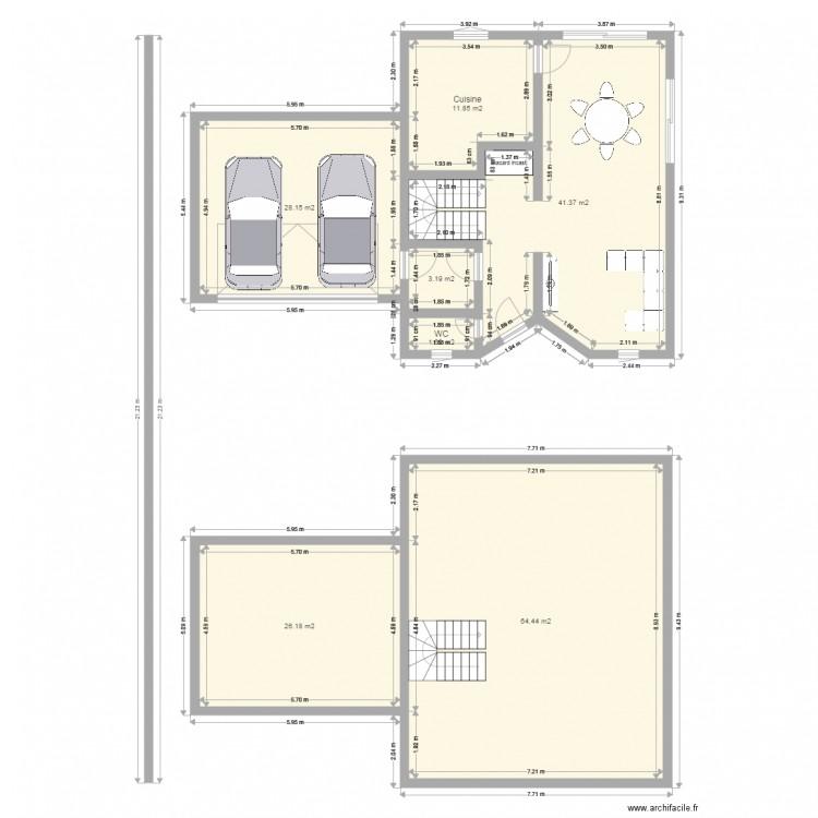 plan de maison weitel