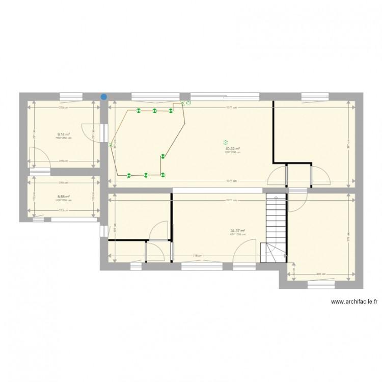 Teteghem Plan 4 Pi Ces 89 M2 Dessin Par Fab59229