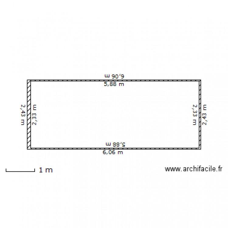 Container dessus 20 pieds plan dessin par dolux for Plan container 20 pieds