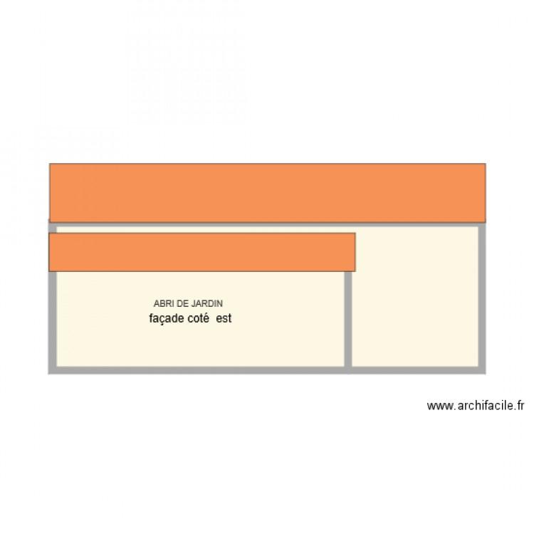 abri de jardin plan 1 pi ce 25 m2 dessin par antonio pinto. Black Bedroom Furniture Sets. Home Design Ideas