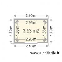 Plan d 39 abris de jardin gratuit logiciel archifacile for Archifacile mac