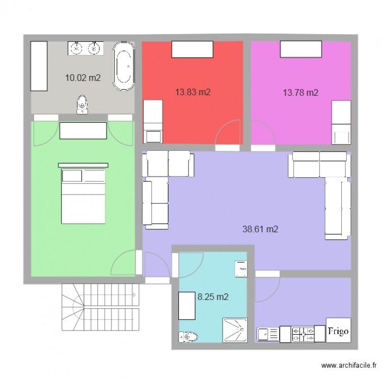 plan maison maroc