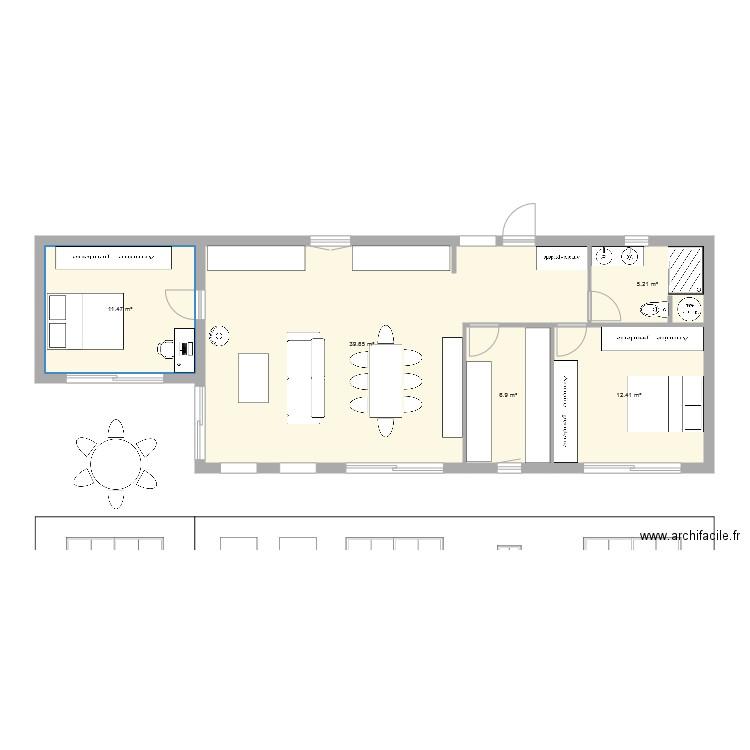 cloison ossature bois plan dessin par lukis31. Black Bedroom Furniture Sets. Home Design Ideas
