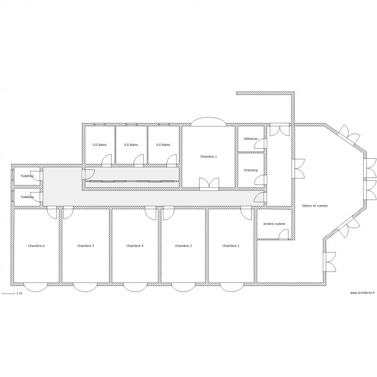 grande maison am ricaine type plan 18 pi ces 291 m2 dessin par stanbrown. Black Bedroom Furniture Sets. Home Design Ideas