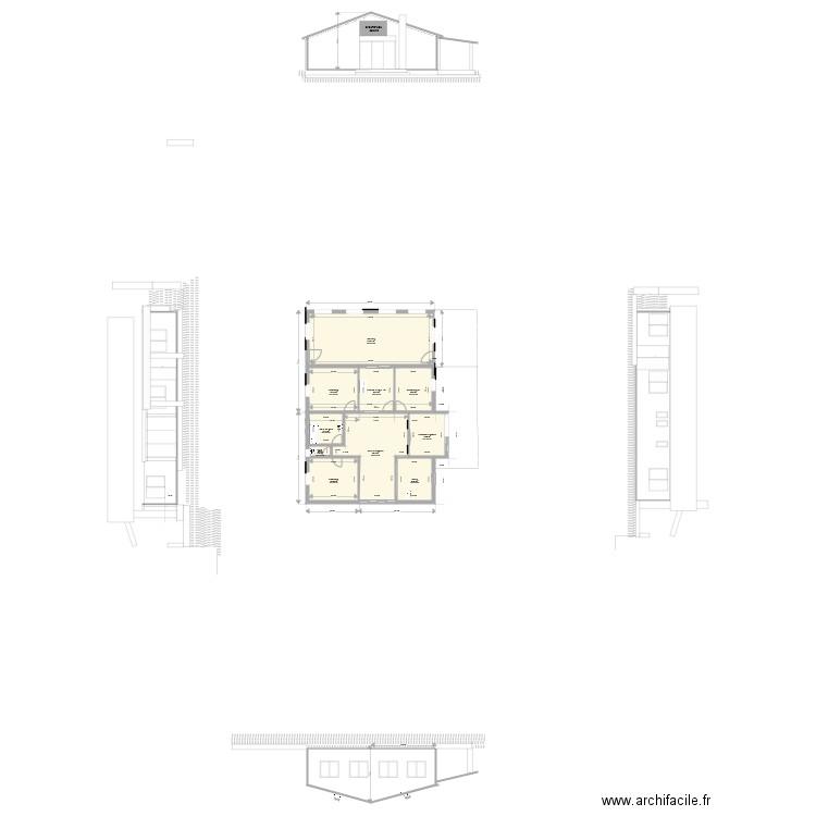 Plan maison original 2018 avec varangue plan 10 pi ces 132 m2 dessin par butterfly974 - Plan de maison original ...