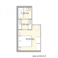 Plan maison et appartement de 14 18 m2 for Plan chambre parentale